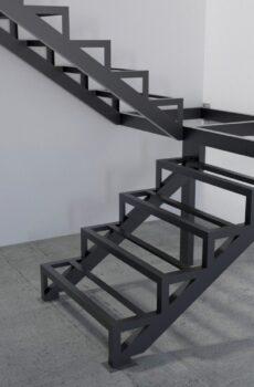 Каркасы лестниц из металла